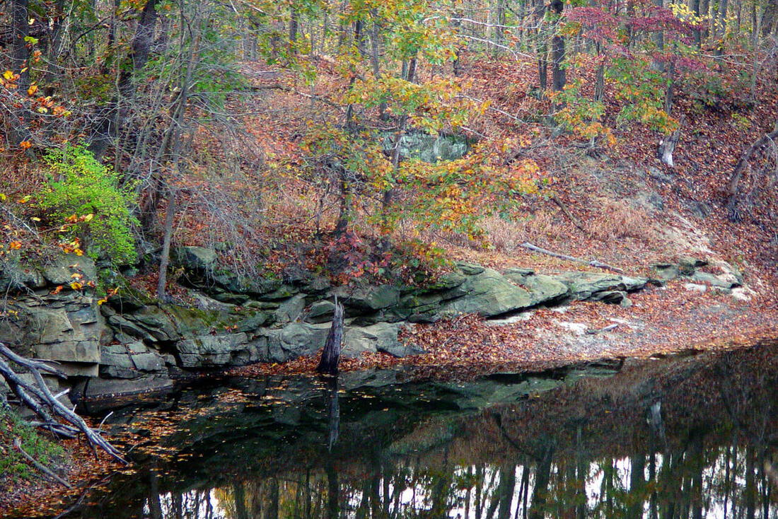 Blackhand Gorge in the fall