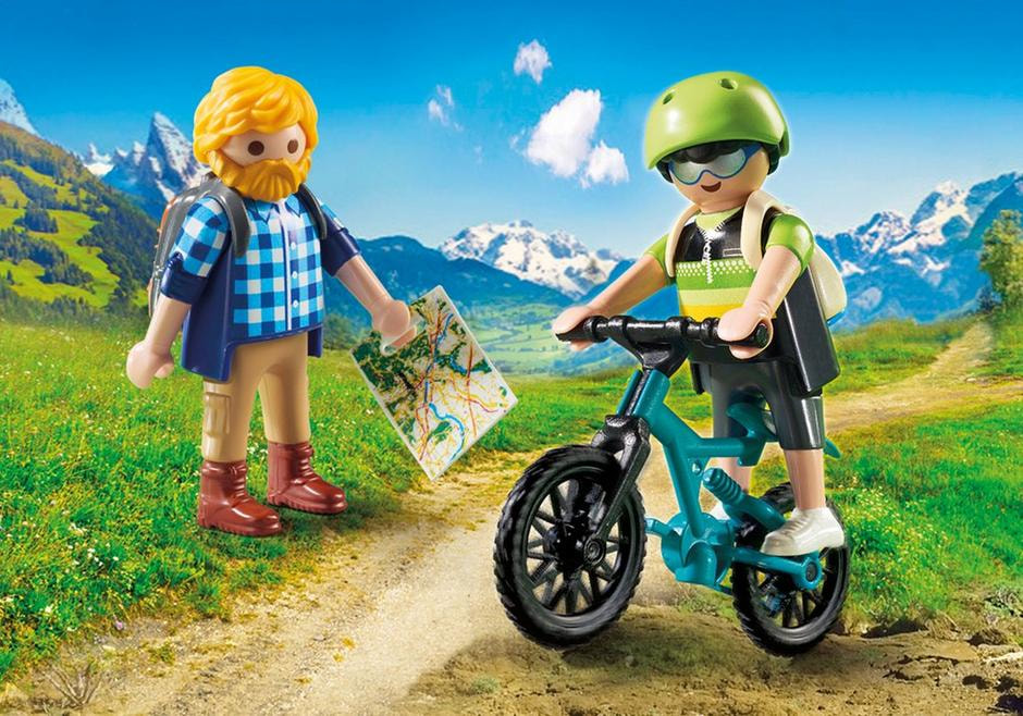 Playmobil Hiker & Biker